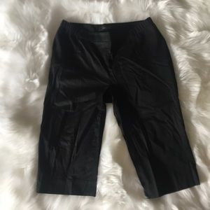 BCBG black fitted shorts size Small